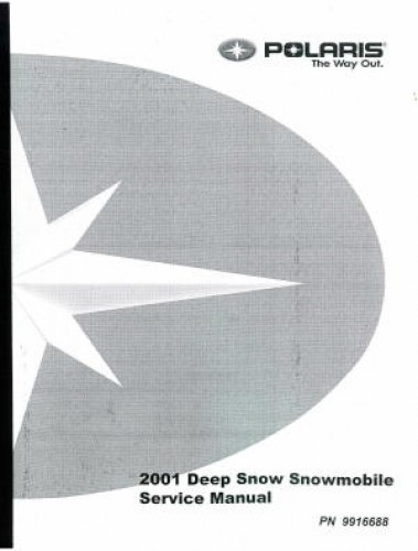 Official 2001 Polaris Deep Snow Factory Service Manual