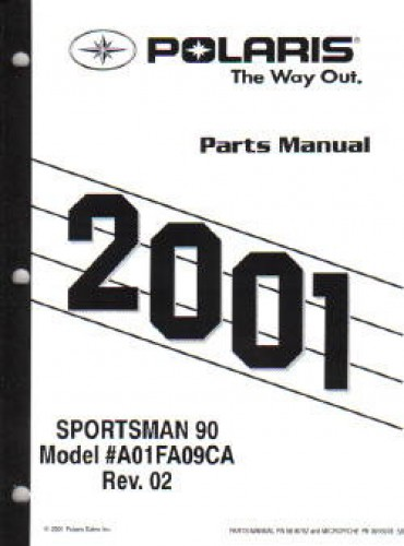 2001 polaris sportsman 90 parts manual. Black Bedroom Furniture Sets. Home Design Ideas