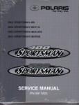 Official 2002 Polaris Sportsman 400 500 ATV Factory Repair Manual