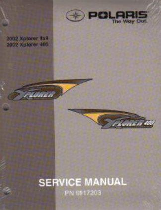 Used 2002 Polaris XPLORER 250-400 ATV Factory Service Manual