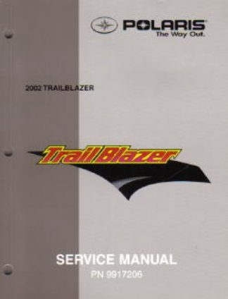 Official 2002 Polaris Trail Blazer 250 ATV Service Workshop Manual