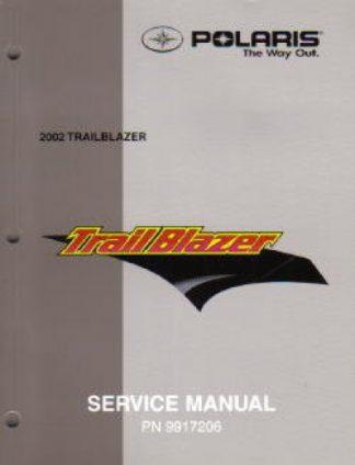 Official 2002 Polaris Trail Blazer 250 ATV Service Workshop Manual
