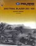 Official 2003 Polaris Trailblazer 250 400 Factory Service Manual