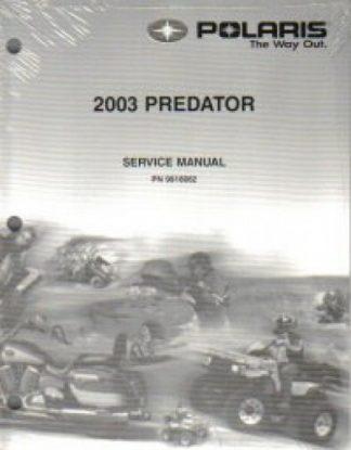 Official 2003 Polaris Predator 500 Factory Service Manual