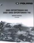 2002-2003 Polaris Sportsman 600 700 Twin Service Manual