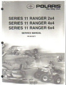 Official 2003-2004 Polaris Ranger Series 11 Factory Service Manual