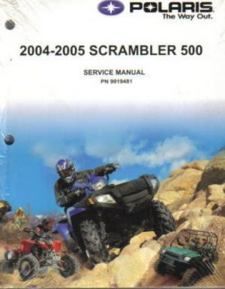 Official 2004-2005 Polaris Scrambler 500 Factory Service Manual