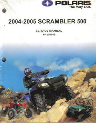 2004 2005 polaris scrambler 500 service manual rh repairmanual com 2006 Polaris Scrambler 500 1995 Polaris Scrambler 500