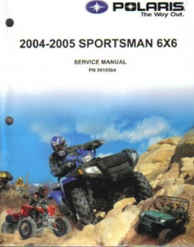 2004 2005 polaris sportsman 500 ho 6x6 repair manual rh repairmanual com 2001 polaris sportsman 500 ho service manual download polaris sportsman 500 ho repair manual