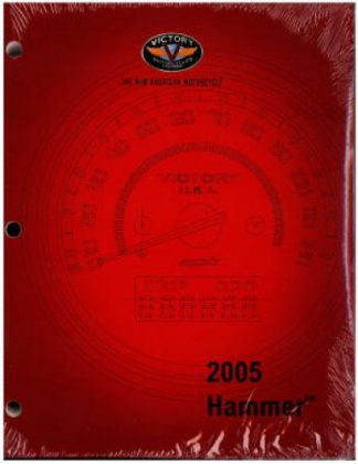 UsedOfficial 2005 Victory Hammer Factory Service Manual