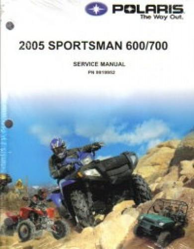 used 2005 polaris sportsman 600 700 twin atv service manual. Black Bedroom Furniture Sets. Home Design Ideas