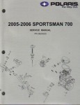 Official 2005-2006 Polaris Sportsman 700 Factory Service Repair Manual
