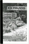Official 2006 Polaris Hawkeye 300 2X4 and 4X4 Owners Manual