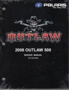 2006 Polaris Outlaw 500 Service Manual border=