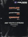 Official 2007 Polaris Outlaw 90 Predator 50 Sportsman 90 Factory Service Manual