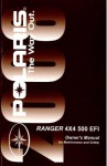 Official 2008 Polaris Ranger 4X4 500 EFI Factory Owners Manual