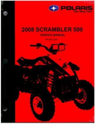 Official 2008 Polaris Scrambler 500 Factory Service Manual