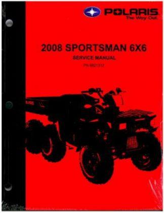 Used 2008 Polaris Sportsman 6X6 ATV Factory Service Manual
