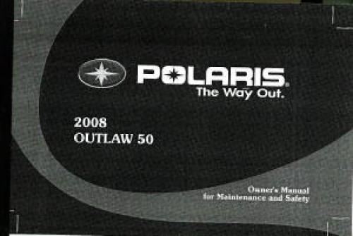 2008 polaris outlaw 50 atv owners manual rh repairmanual com Polaris Preditor 90 2013 polaris outlaw 50 owners manual