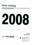 Official 2008 Polaris Outlaw 50 Factory Parts Manual