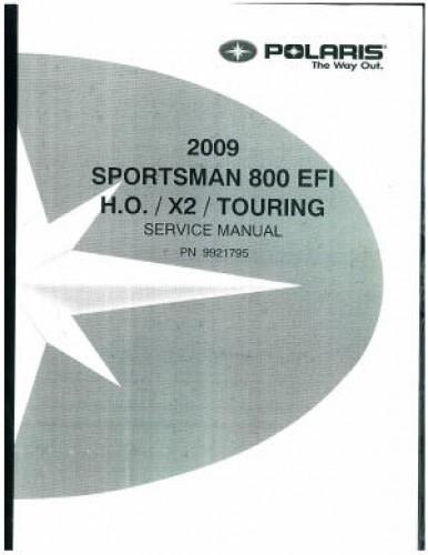 2009 polaris sportsman 800 efi service manual. Black Bedroom Furniture Sets. Home Design Ideas