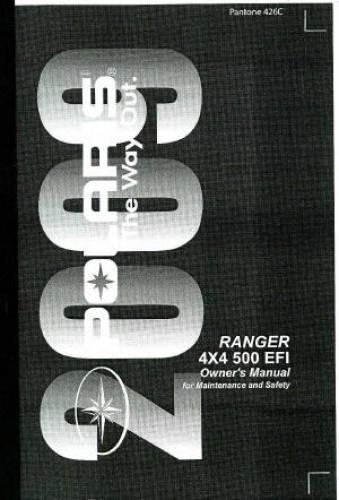2007 polaris ranger 500 efi owners manual aneli. Black Bedroom Furniture Sets. Home Design Ideas