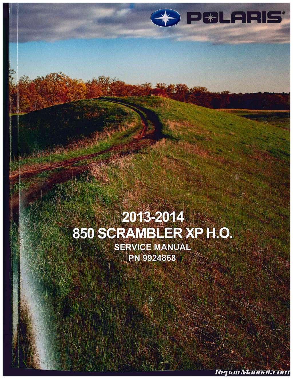 2013 polaris scrambler 850 service manual