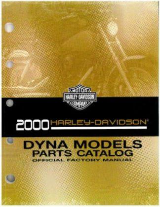 Official 2000 Harley Davidson Dyna Glide Parts Manual