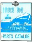 Official 1993-1994 Harley-Davidson XLH Parts Manual