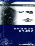 Official 2003 Harley Davidson FXDP Service Manual Supplement