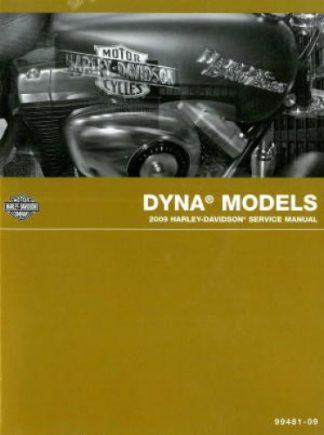 Official 2009 Harley Davidson Dyna Service Manual