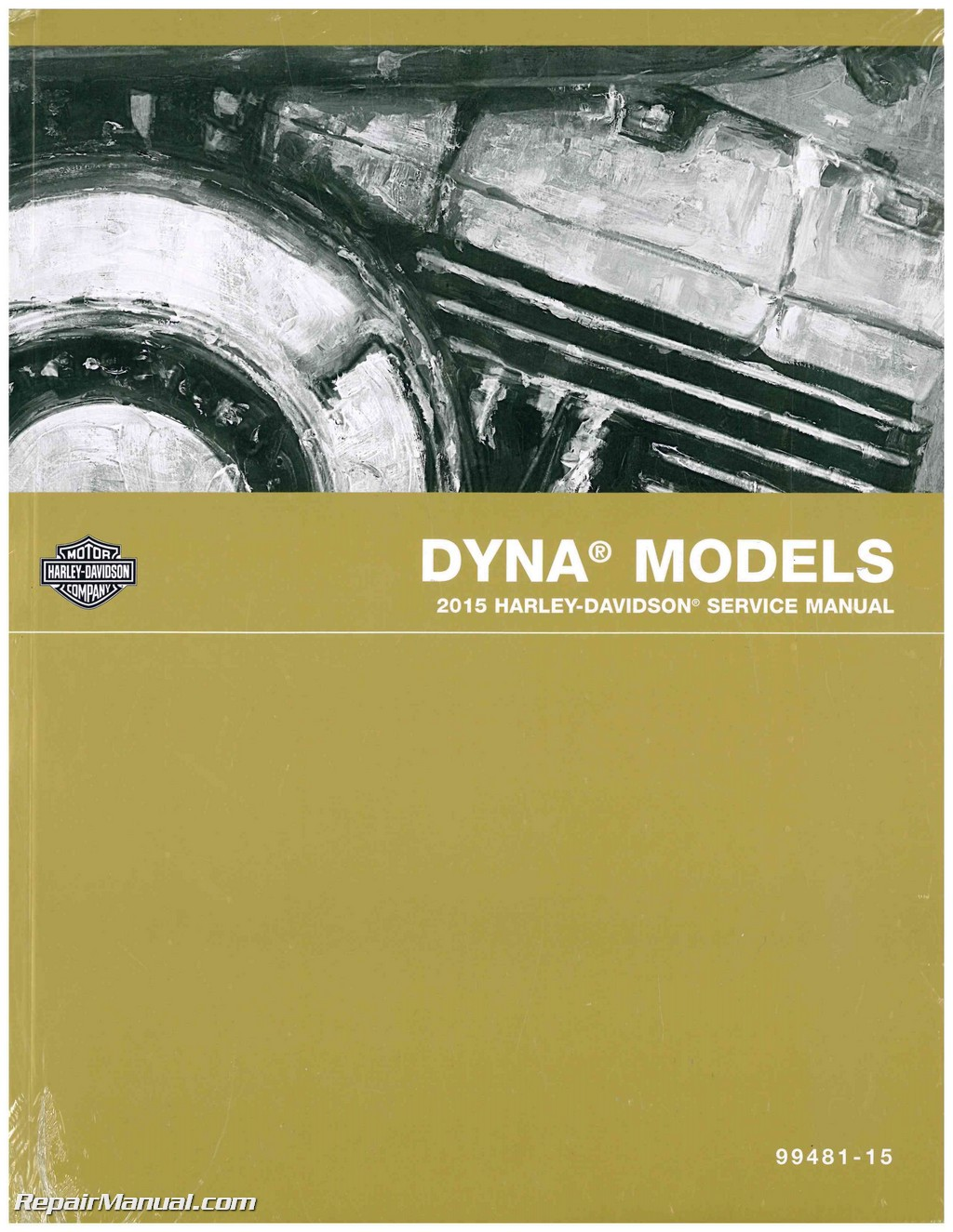 2015 Harley Davidson Dyna Official Printed Factory Motorcycle Service Manual