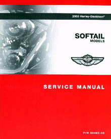 Official 2003 Harley Davidson Softails Service Manual