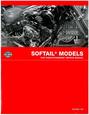 2009 harley davidson softail motorcycle service manual rh repairmanual com service manual softail slim service manual softail 2011