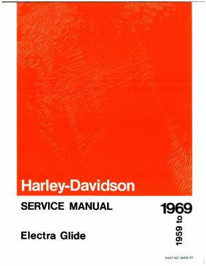 1959 1969 harley davidson electra glide duo glide motorcycle service rh repairmanual com 1959 1969 Harley-Davidson Service Manual Harley-Davidson Maintenance Manual