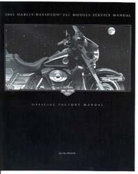 Official 2001 Harley Davidson FLT Service Manual