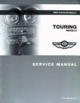 Official 2003 Harley Davidson Touring Service Manual