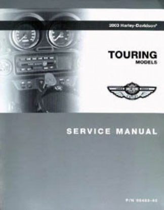 Official 2003 Harley Davidson Touring Service Manual