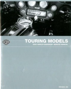 Official 2005 Harley Davidson Touring Service Manual