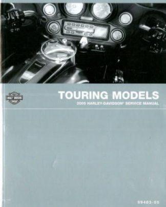 Official 2005 Harley Davidson Touring Service Manual