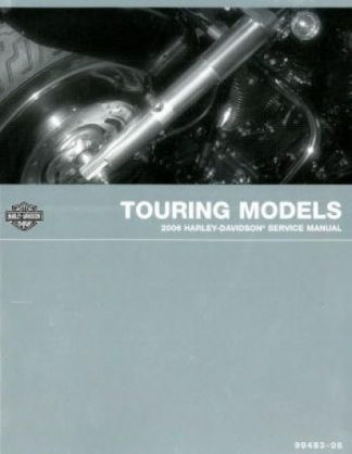 Official 2006 Harley Davidson Touring Service Manual