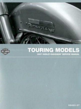 Official 2007 Harley Davidson Touring Service Manual