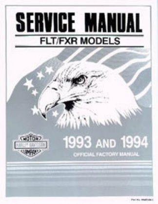 Official 1993-1994 Harley Davidson FLT FXR Service Manual
