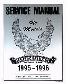 Official 1995-1996 Harley Davidson FLT Service Manual