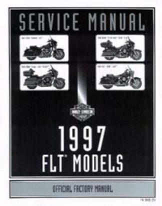 Official 1997 Harley Davidson FLT Service Manual