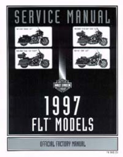 Official 1997 Harley Davidson FLT Service Manual