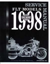 Official 1998 Harley Davidson FLT Service Manual