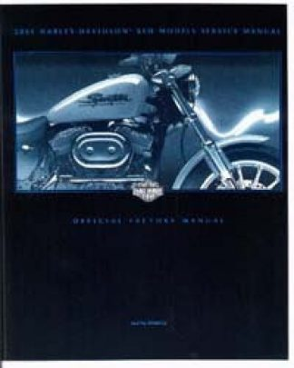 Official 2001 Harley Davidson XLH Service Manual