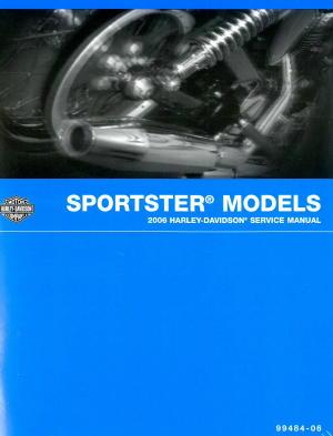 Official 2006 Harley Davidson Sportster Service Manual