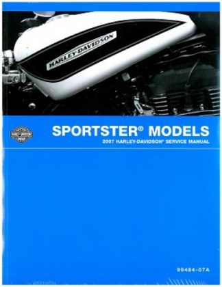 Official 2007 Harley Davidson Sportster Service Manual